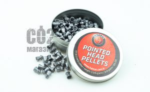 Пули Hatsan Pointed Head Pellets 0,545г 4.5 мм 200шт
